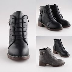 Yunashi Rope Oxford Boots | Sale Stock Indonesia