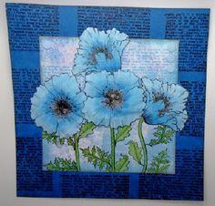 Blue Poppies for Hobby Art