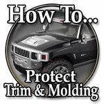 Trim & molding protection