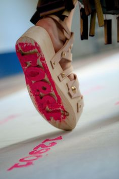 Stamp shoes, I can see lots of possibilities!
