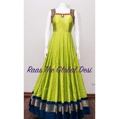 & GOWN-[long_dress]-[wedding_suits]-[indian_dresses]-[gown_dress]-[indian_clothes]-[prom_dress]-Raas The Global Desi Kurta Designs, Kurti Designs Party Wear, Blouse Designs, Dress Designs, Indian Designer Outfits, Indian Outfits, Designer Dresses, Indian Clothes, Mehendi Outfits