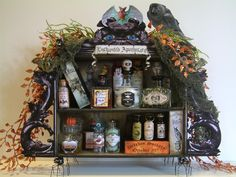 "Witches Apothecary  To see more of my art, signup to win my art, download free images, and learn new techniques checkout my Blog ""Artfully Musing"" at http://artfullymusing.blogspot.com"