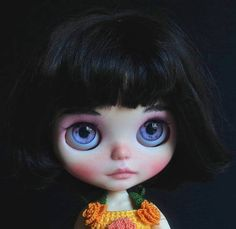 Summer SALE 15% OFF Ooak Custom Blythe Doll: Candy getting ready for the Royal Ascot