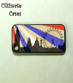 Iphone 4 case  London Eye  iphone 4s case by ultimatecases on Etsy