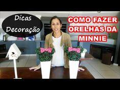 COMO FAZER ORELHAS DA MINNIE - YouTube