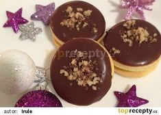 Margotková kolečka recept - TopRecepty.cz Small Desserts, Cookie Desserts, Sweet Desserts, Christmas Sweets, Christmas Kitchen, Christmas Baking, Top Recipes, Baking Recipes, Cooking Cookies