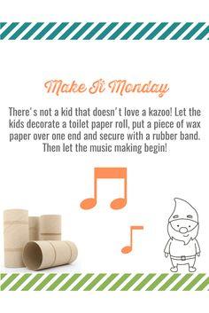 #kids #activities #family #DIY #music