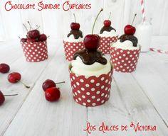 Los Dulces de Victoria: Chocolate Sundae Cupcakes