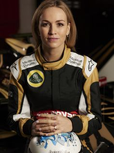 Carmen Jorda 2015 Lotus #F1 Development Pilot