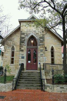 La Villita - the historical church - San Antonio, Texas