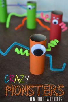 Crazy monster craft
