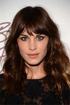 Alexa Chung - The Swag Haircut