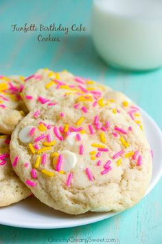 Funfetti Birthday Cake Sugar Cookies Recipe