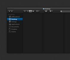 Dark Lion UI - 365psd