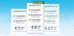 Telekom Allnet Flat mit bis zu 4GB Internet Flat ab 7,90€ ★ Update ★ http://www.simdealz.de/telekom/sparhandy-telekom-allnet-flat/