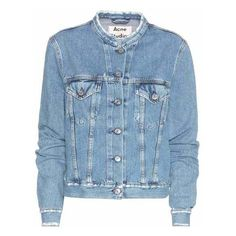 Acne Studios Denim Jacket (540 CAD) ❤ liked on Polyvore featuring outerwear…