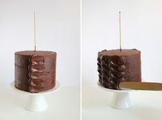 Tutorial torta al cioccolato_Festa del papà