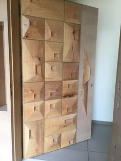 3d wood door( design by Ar.GAUTAM PATEL )