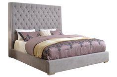 Grayling King Bed from Gardner-White Furniture $600