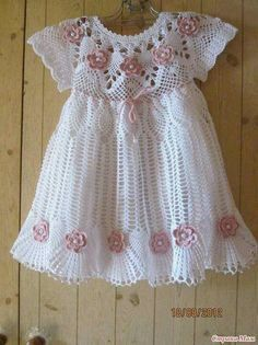 girl crochet dress ♥
