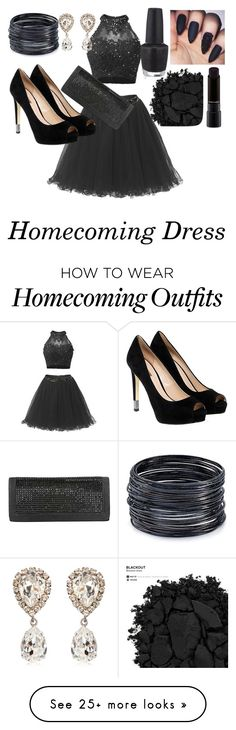 """""""Untitled #43"""" by iamthenewbatman on Polyvore featuring ABS by Allen Schwartz, Dolce&Gabbana, GUESS, MAC Cosmetics, Urban Decay and OPI"""