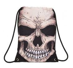 Mojo Mr. Peterson Skull Sling Bag