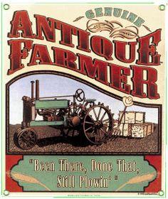 Antique Farmer