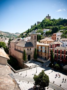 """""""San Gil y Santa Ana"""" , granada, andalusia, spain Granada Andalucia, Andalucia Spain, Granada Spain, Places Around The World, The Places Youll Go, Places To See, Around The Worlds, San Gil, Spanish Architecture"""
