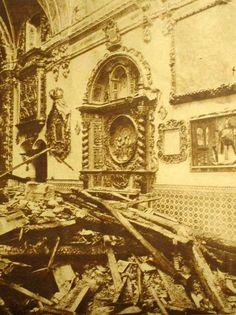 1931-05-10 a 13 Sevilla - Quema de la capilla de San José.