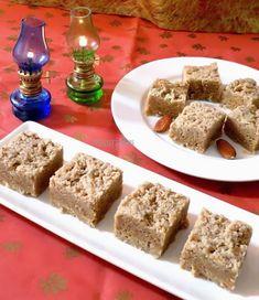 how to make badam mysore paak - Almond Fudge