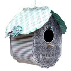Spellbinders Paper Arts - Idea Gallery - View Project - A Paper Bird House