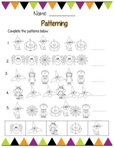 This is one page of a 31 page kdg Halloween ELA and math bundle! On sale for just 3.59!