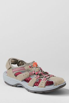 Trekker Closed Toe Sandals from Lands' End...great for walking.
