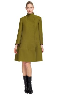 I want this Narciso Rodriguez Fall '12 wool coat so badly!