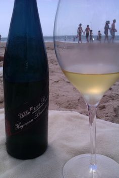 Heymann Löwenstein Schieferformation Blaufüber Lay Uhlen 2006 B. Riesling wine from Mosel (Germany) enjoyed at the beach with good company.