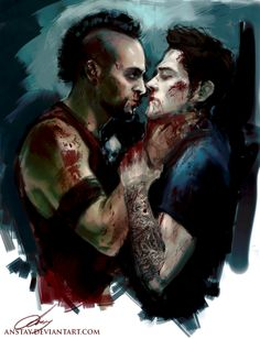 Jason got tortured the entire game by vaas Far Cry Game, Far Cry 4, Jason X, Mundo Dos Games, Gamer Humor, Sterek, Devil May Cry, Gay Art, Video Game Art