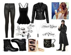 """Hook OUAT outfit"" by lokifangirl ❤ liked on Polyvore featuring Once Upon a Time, J Brand, Valentino, Doublju, VIPARO, Mudd, Judith Jack, maurices, Karen Kane and Dolce&Gabbana"