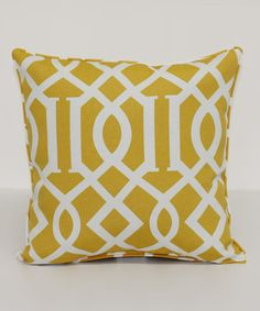 Look what I found on #zulily! Kirkwood Soleil Square Throw Pillow #zulilyfinds