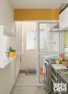 Revista MinhaCASA - Cozinha e lavanderia eficientes e bonitas
