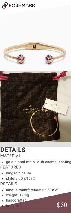 Kate Spade Lady Marmalade Open Cuff Brand new includes dust bag kate spade Jewelry Bracelets