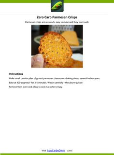 Zero-Carb-Parmesan-Crisps-Recipe Card