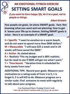 smart goals example | Articles | Pinterest | Smart goals ...