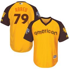 Jose Abreu Gold 2016 MLB All-Star Jersey - Men s American League Chicago  White Sox b21acac95