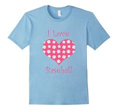 Girly pink i love baseball heart T-Shirt - Male Small - Baby Blue Brothergravydesigns http://www.amazon.com/dp/B016FSEV64/ref=cm_sw_r_pi_dp_8O7owb09XNHS2