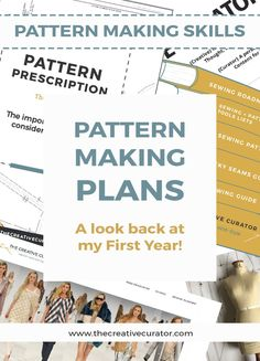 First Birthday And Future Pattern Making Plans - The Creative Curator