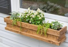 Most people put flowers in planters, but this idea will make your neighbors smile whenever they pass your house!