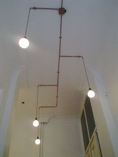 ceiling light conduit - Google Search