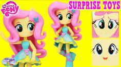 My Little Pony Equestria Girl Minis Fluttershy Surprise Cubeez Surprise ...