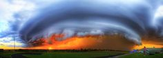 Amazing Picture of a Massive Supercell In Tornado Alley, USA