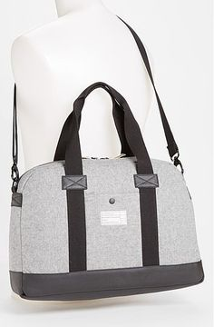 Academy Laptop Duffle: Hex's duffle ($100) has a canvas exterior with a water-resistant finish. It can fit a laptop up to 15-inches and includes an iPad pocket for your most trustworthy tablet.